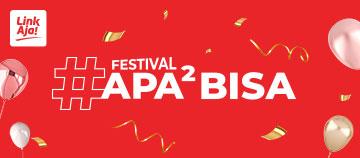 Festival apa – apa bisa di ulang tahun LinkAja
